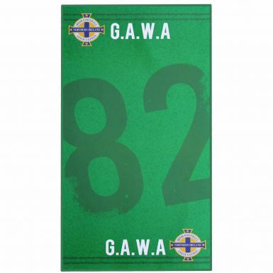 Northern Ireland FA Crest GAWA Bath Towel