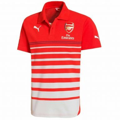 Official Arsenal FC (Premier League) Polo Shirt by Puma (Adults)