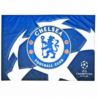 Chelsea FC Crest & Champions League Flag