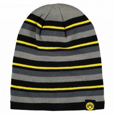 Borussia Dortmund BVB Crest Beanie Hat