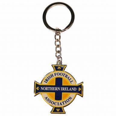 Northern Ireland FA Football Crest Keyring