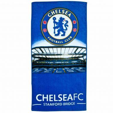 Chelsea FC Crest Stadium & Bath Towel
