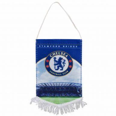 Chelsea FC Stadium & Crest Mini Pennant