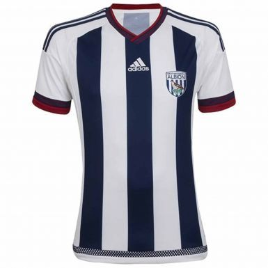 West Bromwich Albion (WBA) Shirt by Adidas for leisure or Training