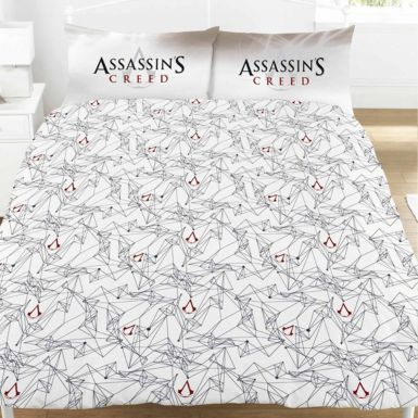 Assassins Creed Montage Double Bed Duvet Cover Set