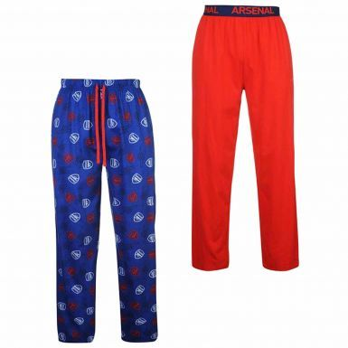 Arsenal FC Mens Lounge Pants (Pyjama Bottoms) Set