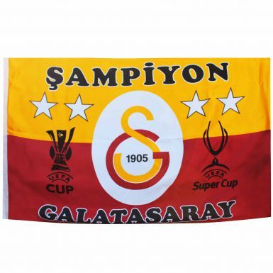 Giant Galatasaray S.K. Crest Football Flag