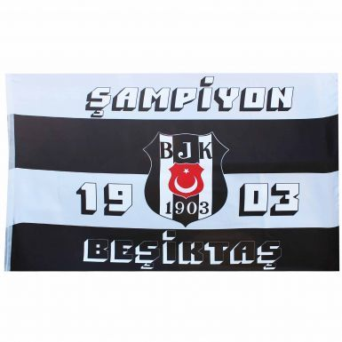 Giant Besiktas JK Crest Sampion Flag