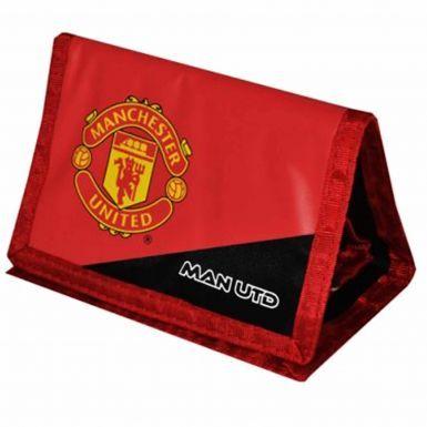 Manchester United Crest Money Wallet