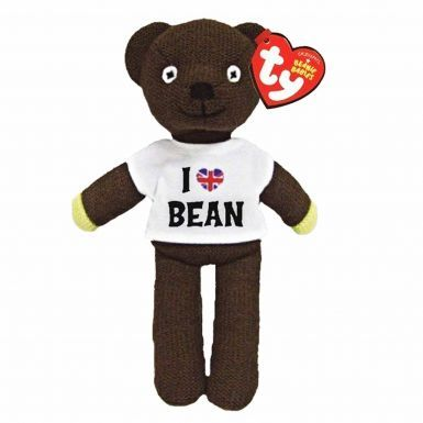 Official 'I Love Mr Bean' Beanie Bear by Ty