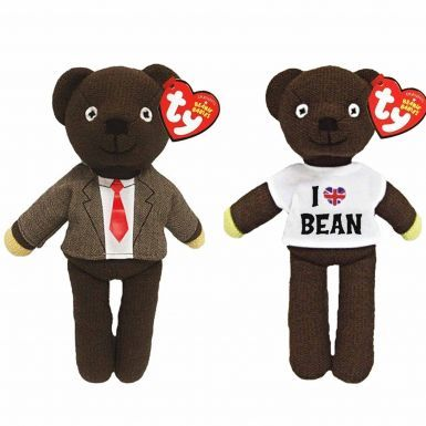 Official Mr Bean Twin Beanie Bear Set by Ty