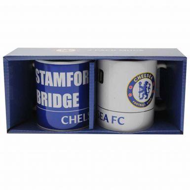 Official Chelsea FC Boxed Ceramic Mug Gift Set
