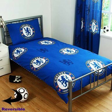 Chelsea FC Single Comforter Cover & Pillowcase Set