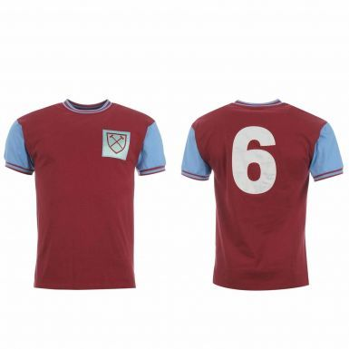 West Ham United Classic 1960's Retro Shirt