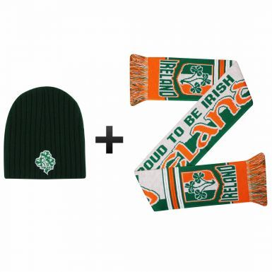 Ireland Winter Warmers Hat & Scarf Set