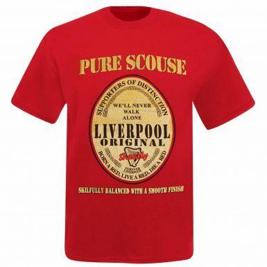 Unisex Liverpool Pure Scouse Souvenir T-Shirt