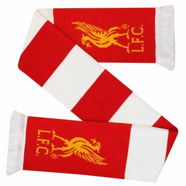 Official Liverpool FC Crest Bar Scarf