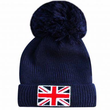 Union Jack Sherpa Fleece Ski Hat