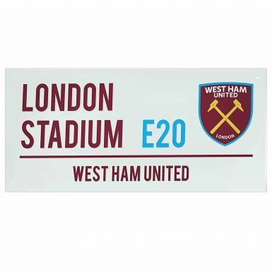 West Ham United London Stadium Street Sign