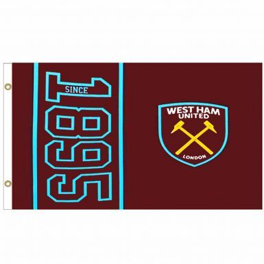 Giant West Ham United (Premier League) Crest Flag