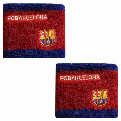FC Barcelona Crest Wristbands (Sweatbands)