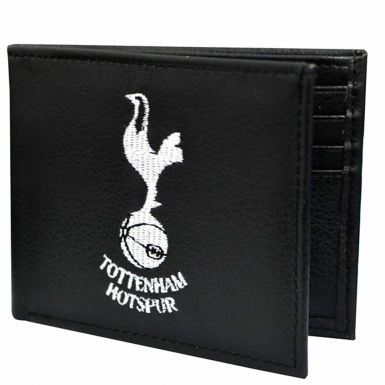 Spurs Crest Leather Wallet