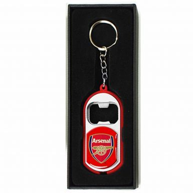 Arsenal FC Leather (PU) Wallet & Keyring/Torch Gift Set