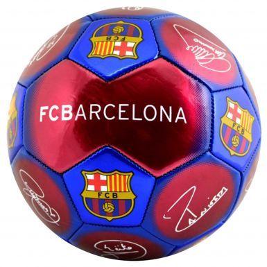 FC Barcelona (La Liga) Signature Soccer Ball Size 5