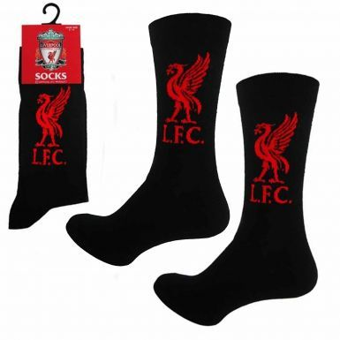 Official Liverpool FC Football Crest Socks (Adults)