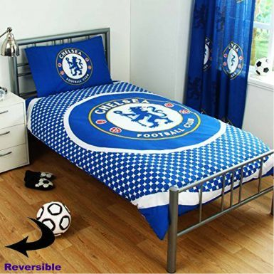 Official Reversible Chelsea FC Single Duvet Cover Set