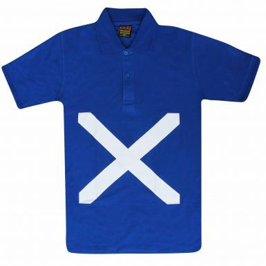 Unisex Scotland Saltire Flag Polo Shirt