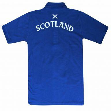 Unisex Scotland Saltire Flag Polo Shirt