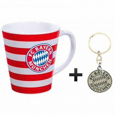 Bayern Munich Coffee Mug & Keyring Gift Set