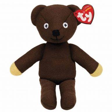 Cute Mr Bean Knitted Beanie Bear by Ty