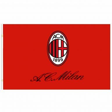 Giant AC Milan Crest Flag (5ft x 3ft)