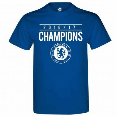 Official Chelsea FC 2017 Premier League Winners T-Shirt