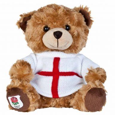 Official England Rugby RFU Plush Teddy Bear Mascot