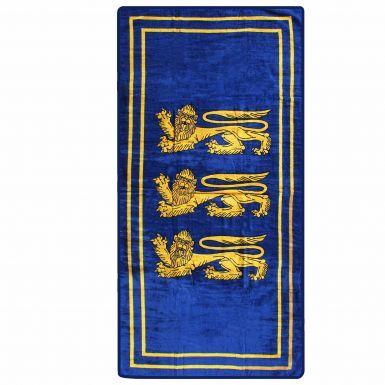 England 3 Lions Retro Beach Towel (70cm x 140cm)
