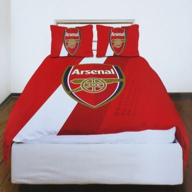 Official Arsenal FC Double Duvet Cover Set (Including 2 x Pillowcases)