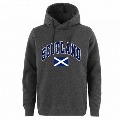 Unisex Scotland Saltire Flag Leisure Hoodie