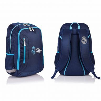 Official Real Madrid Crest Premium Backpack