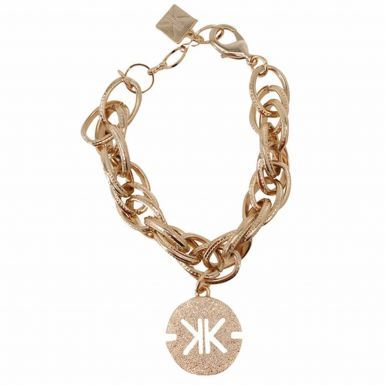 Official Kim Kardashian Gold Plated Sovereign Bracelet