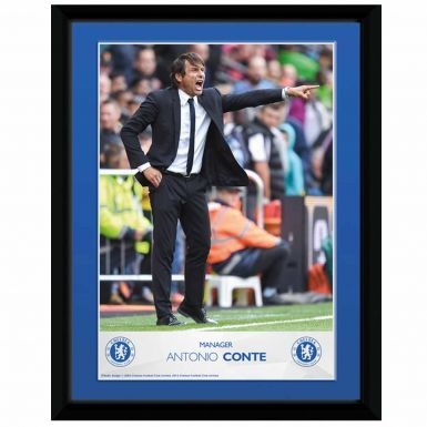 Official Antonio Conte Chelsea FC Manager Framed Print
