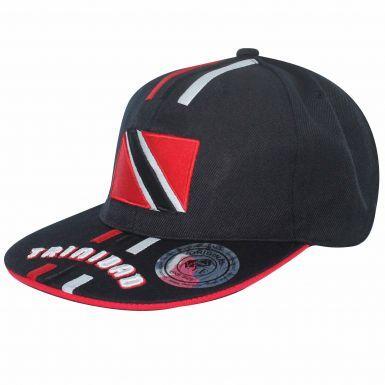 Trinidad & Tobago 3D Flag Baseball Cap