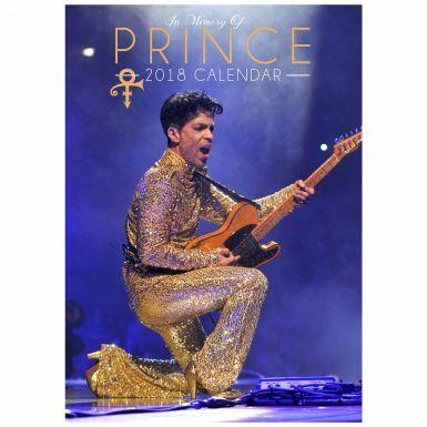 Prince Music Legend A3 2018 Calendar (Full Colour)