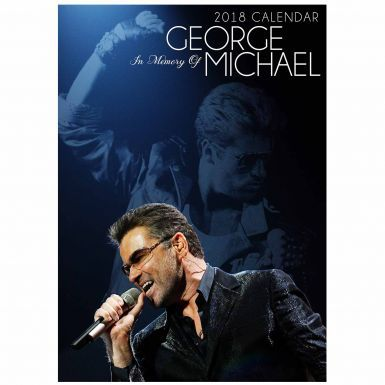 George Michael Music Legend A3 2018 Calendar (Full Colour)