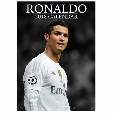 Cristiano Ronaldo & Real Madrid 2018 Calendar
