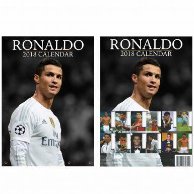 Cristiano Ronaldo & Real Madrid 2018 Soccer Calendar