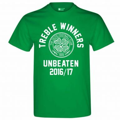 Celtic FC 2017 Champions & Treble Winners T-Shirt