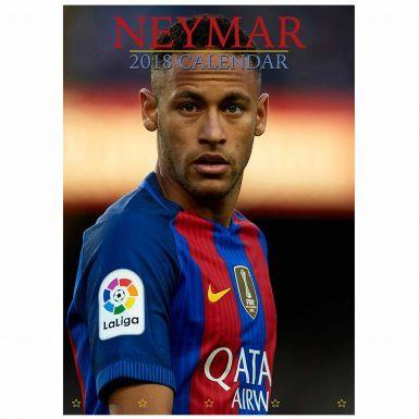 NEYMAR Jnr (Brazil & FC Barcelona) 2018 Football Calendar